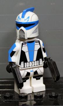 clone army customs | scuba captain rex